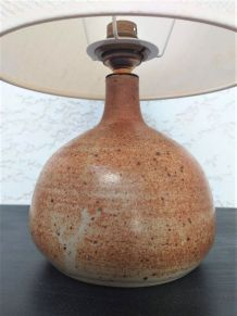 Lampe céramique années 60 vintage