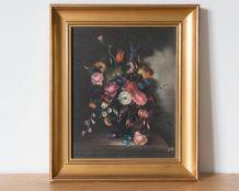 """Tableau """"bouquet de fleurs"""""""