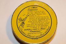 ancienne boite métal pastilles au miel des Alpes