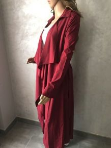Trench maxi longueur grenad