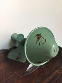 Lampe pince champignon, vintage