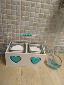 Pots pour salle de bain