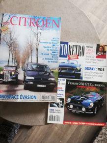 Superbe collection de magazines rétro viseur