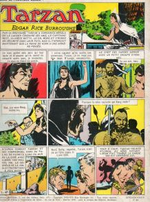 Bande dessinée tarzan n°46 1970