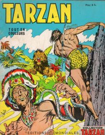 Bande dessinée tarzan n°44 1970