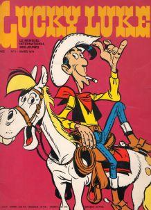Bande dessinée Lucky Luke n°1 de Mars 1974
