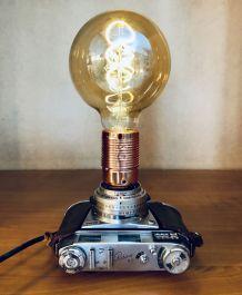 Lampe vintage Vénus Rétina- Atelier Monsieur Lumière