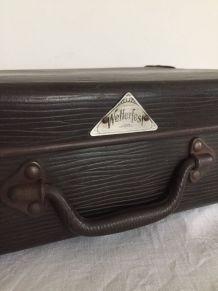 Valise Wetterfest, bagage vintage
