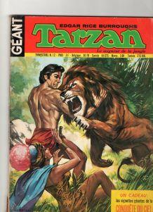 bande dessinée Tarzan géant de 1972