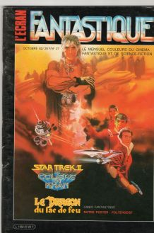 magazine l'écran fantastique sur cinéma fantastique 1982