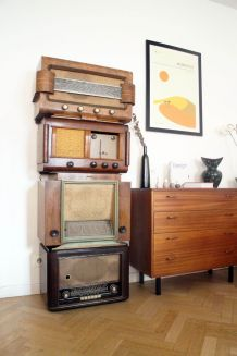 Radios vintage de collection