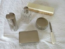 Nécessaire de voyage vintage - Trousse de toilette