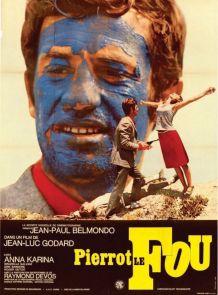 Affiche cinéma originale : Pierrot le fou