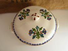 Ancienne soupière décor NEVA Sarreguemines