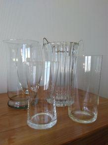 Vases en verres