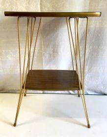 Table d'appoint pieds Eiffel – années 50/60