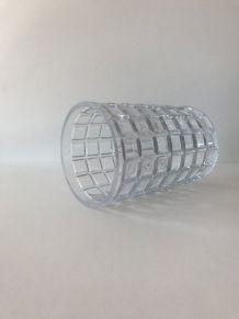 Vase art déco en verre