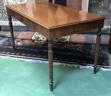 Table - Table bureau en acajou - années 50