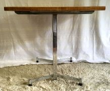 Table bistrot design moderniste années 60/70
