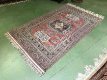 Tapis pakistanais en laine fait main - 2m03x1m22