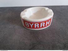 cendrier publicitaire BYRRH en faïence du nord - le moulin d