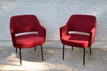 paire de fauteuils DEAUVILLE design Marc et Pierre Simon