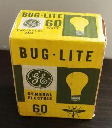 """Lot de 2 ampoules à vis  """"Bug.Lite - 60 Watt"""""""