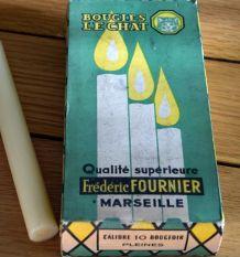 Boîte de 10 bougies neuves LE CHAT  Frédéric