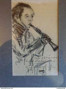 Dessin de Roger griboval  1952