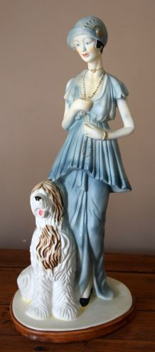 Figurine en plâtre des années 60-70