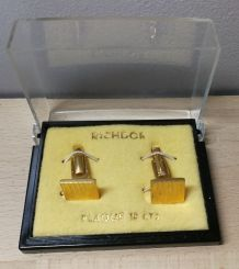 RICHDOR / Ancien coffret bouton de manchette
