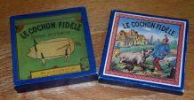 Le cochon fidèle, jeu ancien d'adresse / 1987