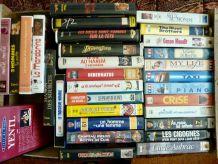 Lot de 31 cassettes video (VHS) - comédies  variées