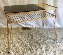 Table d'appoint pieds Eiffel  – années 60