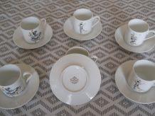 service en porcelaine Limoges MOKA