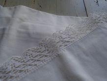 2 taies d'oreiller anciennes