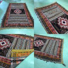 Tapis marocain en laine fait main - 2m60x1m48