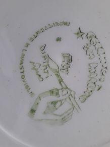 assiette ceramique   d italie