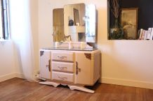coiffeuse / commode miroir triptyque