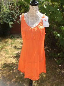 Fond de robe vintage pin Up vitos lingerie