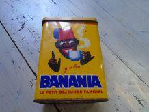 Boite tôle peinte Banania 1970