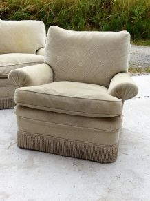 Salon complet Canapé et 2 fauteuils