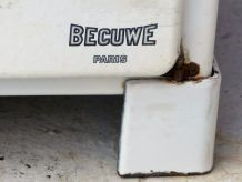 Meuble en tôle émaillée Becuwe Paris
