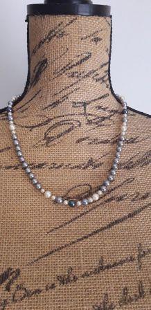 Véritable collier perles de majorque Majorica 1985