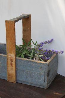 Panier de jardin en bois