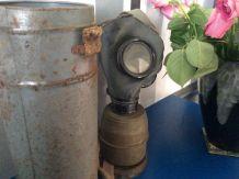 Masque gaz vintage