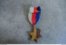 Ancienne médaille militaire - THE 1939-1945 STAR
