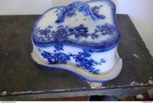 Plateau a fromage en céramique anglaise XXème