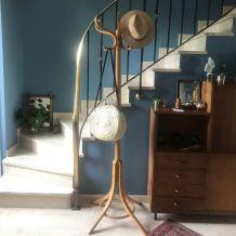 Porte manteau perroquet en bois courbé  1960 vintage