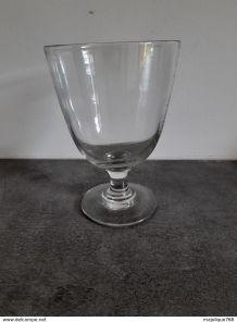 Ancien grand verre   fin XIXe début XXe